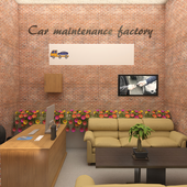 Car maintenance factory
